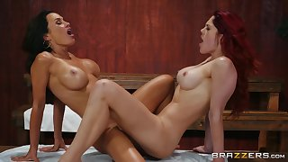 Lisa Ann and Molly Stewart know how to please each other's cunts