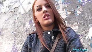 Aylin Diamond drops her drawers to detest fucked from behind in public