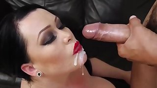 Chubby MILFs crazy cumshots collection